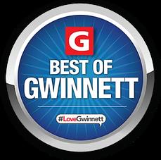Best of Gwinnett Badge: 2016, 2017, 2018, 2019