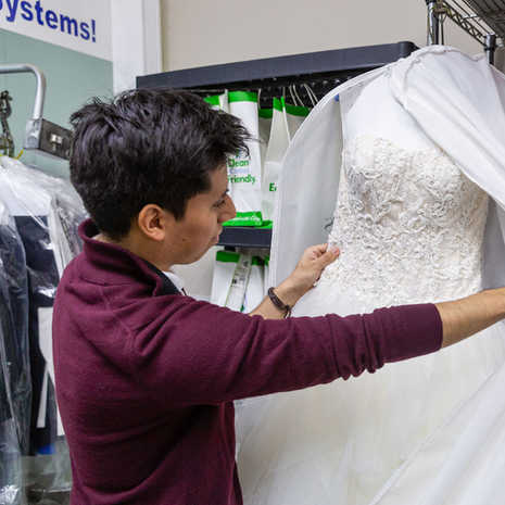 Checking Gown For Quality