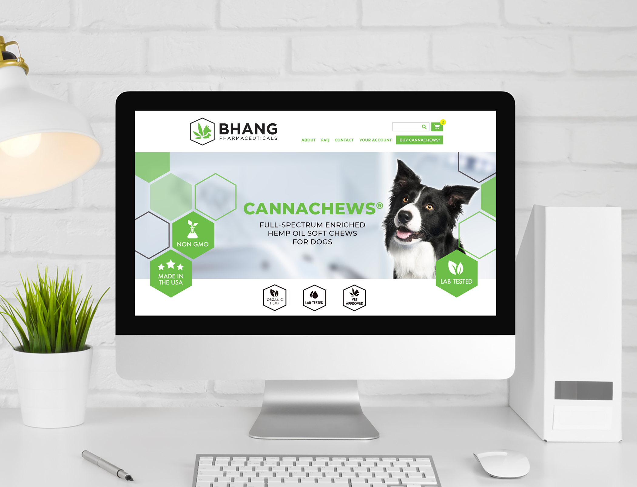 Website Design Bhang Pharmaceuticals