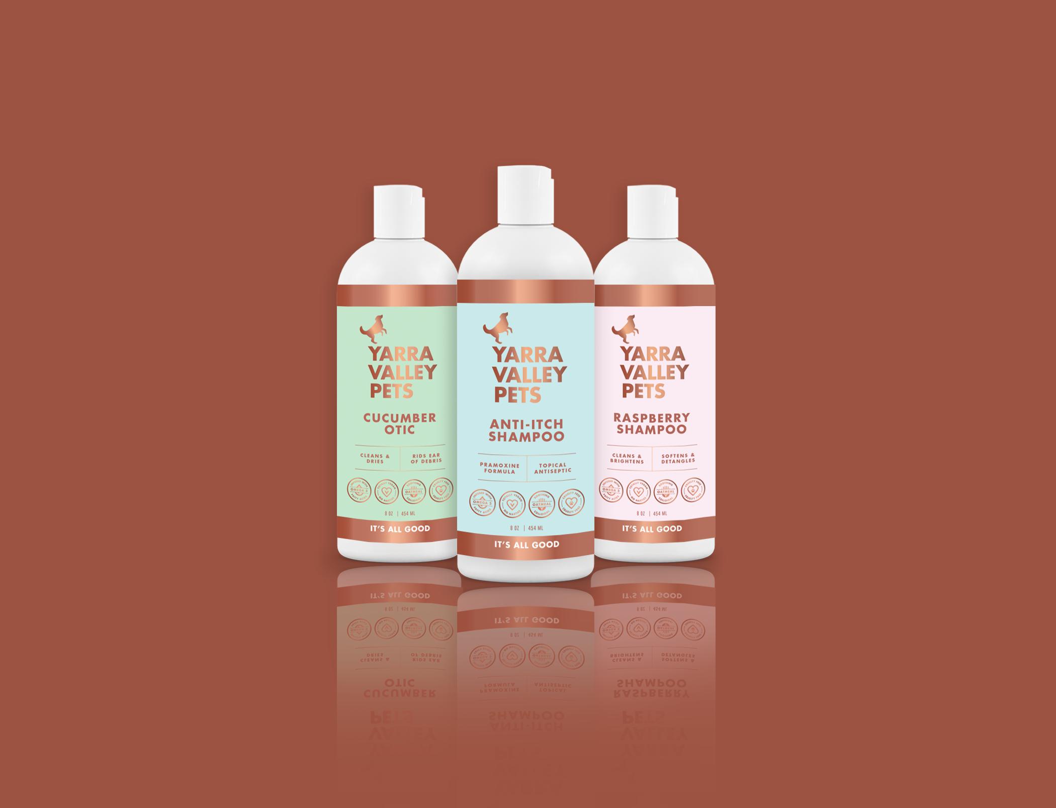 Yarra Valley Pets Label Design
