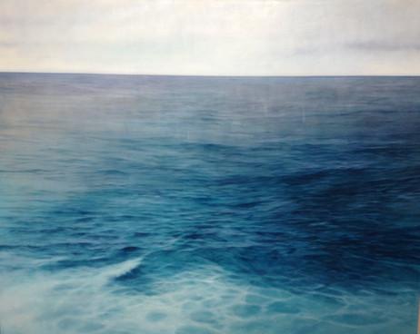 Calm sea Oil on canvas 2011