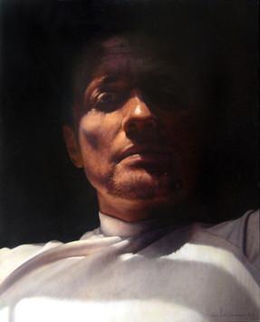 """Fernando  Oil on board 40""""x32"""" / 100x81cm 2006 Private collection USA"""
