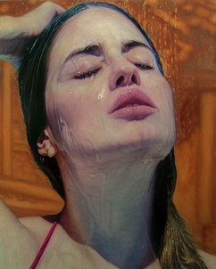 "Portrait Nº10 Oil on Canvas  60""x48"" / 150x120cm 2017 Private collection Greece"
