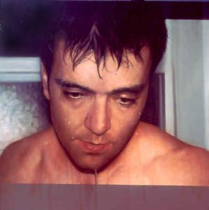 """Self portrait Oil on board 48""""x48"""" / 120x120cm 2001 Private collection USA"""