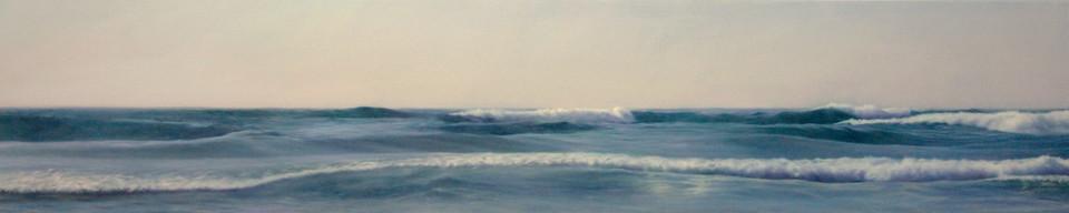 Waves Nº2  Oil on board