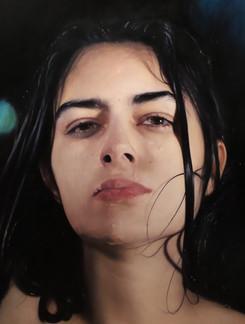 """Portrait Nº15 Oil on canvas 60""""x48"""" / 150x120cm 2020"""