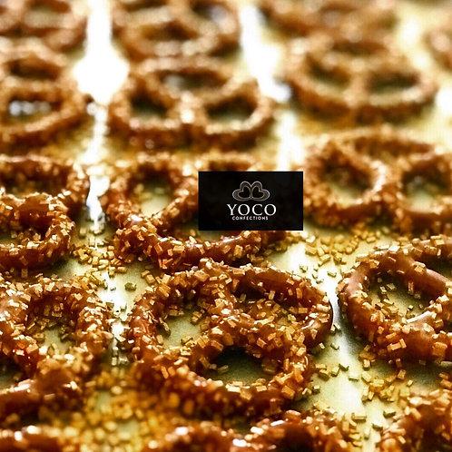 Spicy Chocolate Covered Pretzels (1/2 dz)