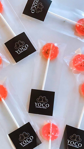 Salted Watermelon Tequila Lollipops (YOCOPOP)
