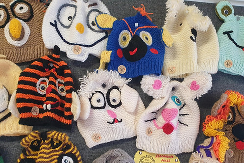 Handmade Beautiful Knitted Hats