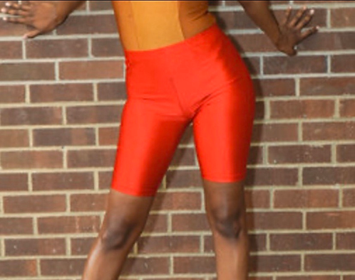 Spandex Red Bikers