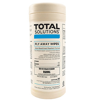 Total Solutions® Fly Away Wipes