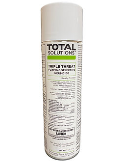 Total Solutions® Triple Threat™ Foaming Selective Herbicide