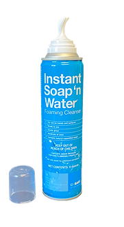 BASF Instant Soap 'N Water Foaming Cleanser