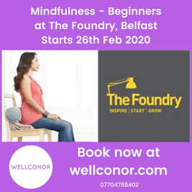 Mindfulness Meditation Belfast Wellconor
