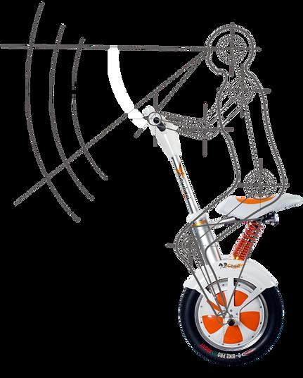 Airwheel A3, modo de utilização