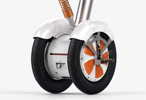 Airwheel A3 pneus resistentes e seguros