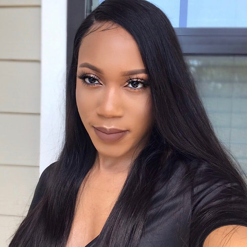 Brazilian Straight Frontal Unit 22-24 inch