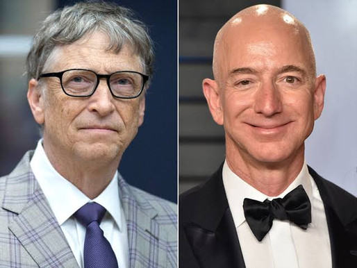 Amazon founder Jeff Bezos loses world's richest man title to Bill Gates