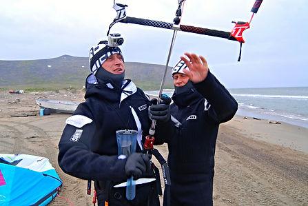 Спортсмены команды ЭКСТРИМ ВИВАКС СПОРТ на Аляске