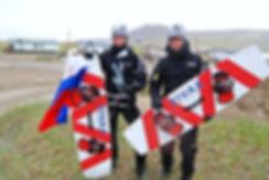 Команда ЭКСТРИМ ВИВАКС СПОРТ на Аляске со своими кайтами и досками спонсора ВИВАКС