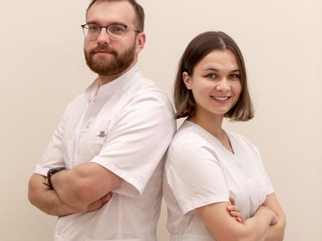 Молодое поколение профессионалов клиники Тари в Королёве.