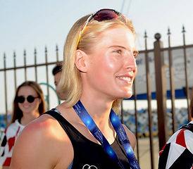 Немка Лиза Зибергер выиграла СПОРТивные соревнования по триалону в Сочи