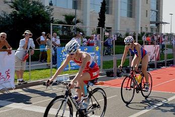 Спорт в Сочи - триатлон женщины.