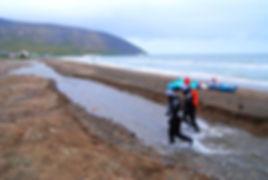 Команда ЭКСТРИМ ВИВАКС СПОРТ на Аляске. Первые шаги