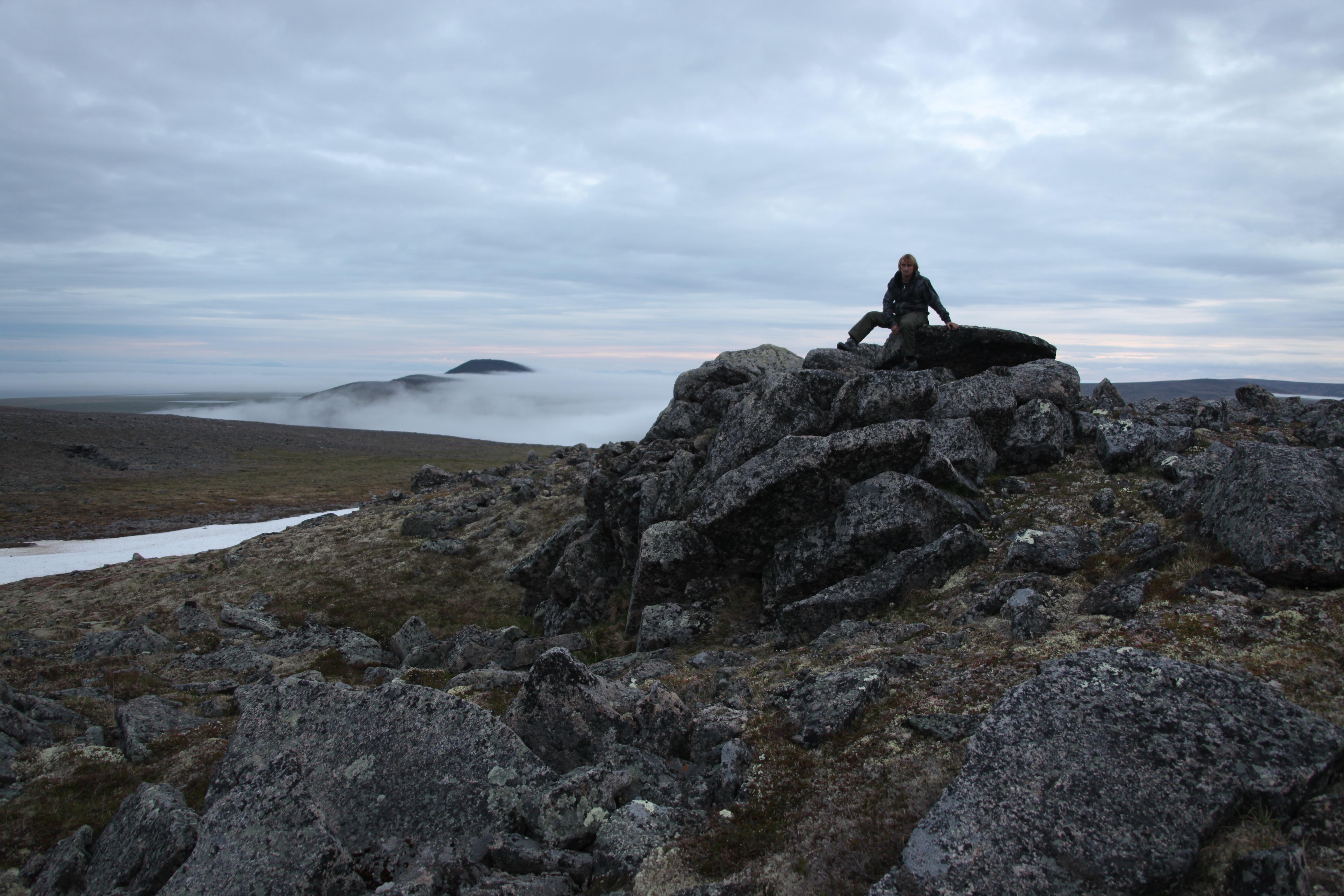 Новожеев на Аляске