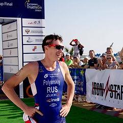 Победитель в триатлоне Дмитрий Полянский. Спорт любят в Сочи!