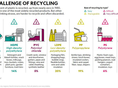 Don't Rely on Recycling Numbers on Plastics