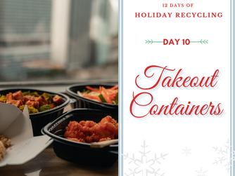 Day 10 - 12 Days of Holiday Recycling (2020)