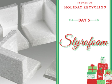 Day 5 - 12 Days of Holiday Recycling (2020)
