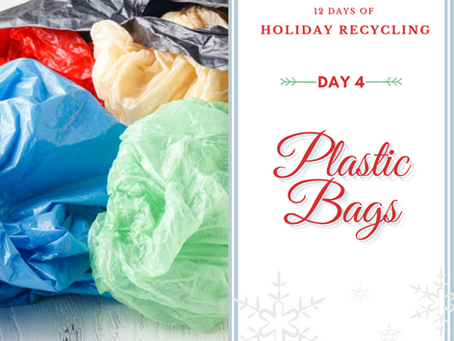 Day 4 - 12 Days of Holiday Recycling (2020)
