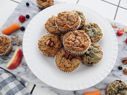 3 Ayurvedic Muffin Recipes