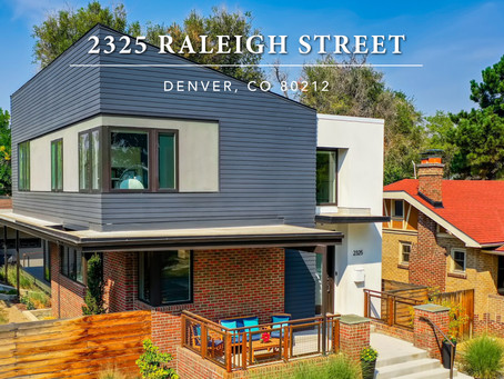 Modern Home with Stylish and Convenient Features Just 1 Block Off Sloan's Lake!