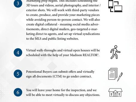 Virtual Seller Program During COVID, Madison & Co. Properties