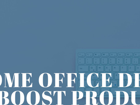 National Decorating Day, Madison & Co. Properties: Home Office Design to Help Boost Productivity