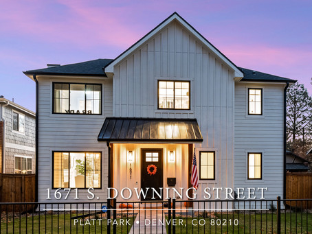 Jaw-Dropping Contemporary Farmhouse in the heart of Platt Park (Madison & Co. Properties)