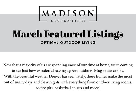 March Featured Listings