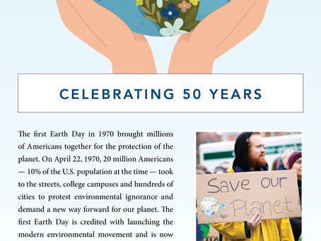 Earth Day 50th Anniversary - Madison & Company Properties