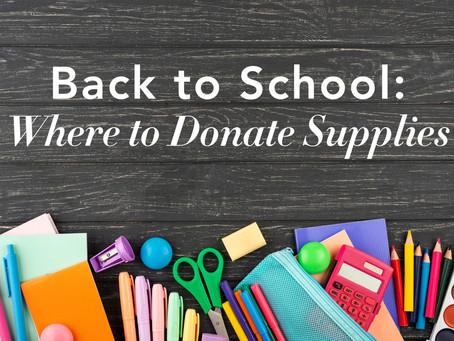 Where to Donate School Supplies to Help Students in Need