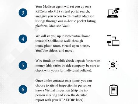 Virtual Buyer Program During COVID, Madison & Co. Properties