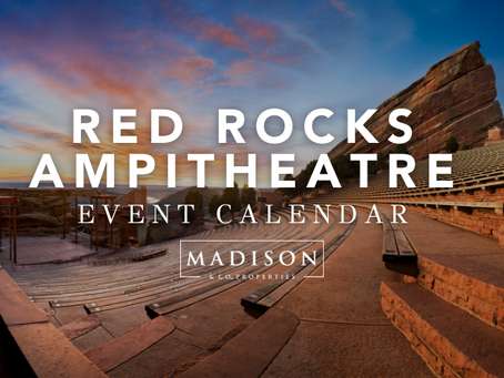 Your 2021 Red Rocks Calendars & Packing List (Madison & Co.)