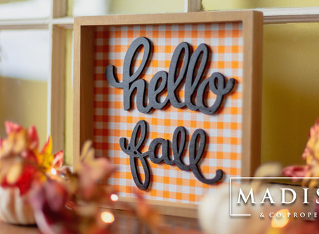 How to Prepare Your Home for Fall (Madison & Co.)