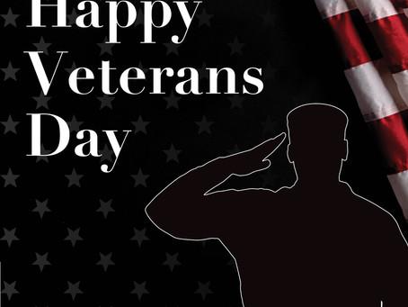 Happy Veterans Day (Madison & Co. Properties)