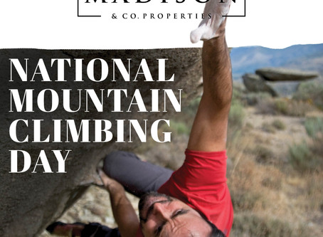 National Mountain Climbing Day - Madison & Company Properties