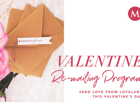 Valentine's Re-Mailing Program in Loveland, Colorado (The Sweetheart City) - Madison & Co.
