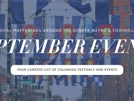 Local Happenings Around the Denver Metro - September (Madison & Co.)