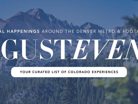 Local Happenings Around the Denver Metro - August (Madison & Co.)